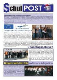 zur Schulpost vom Dezember 2009 - Robert-Schumann-Gymnasium