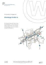 Ehrenberger Straße 112 - Wirtschaftsförderung Wuppertal