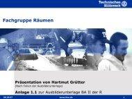 Einleitung - Fachgruppe Räumen - THW Ortsverband Eschweiler