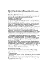 Bijlage bij richtlijn prostaatcarcinoom, hoofdstuk ... - Oncoline