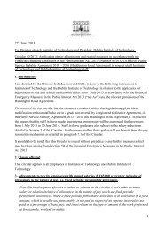 Circular 0030/2013 - Department of Education and Skills
