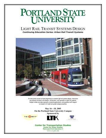 light rail transit systems design - Center for Transportation Studies ...
