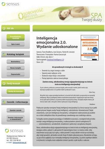 Inteligencja emocjonalna 2.0. Wydanie udoskonalone - Structum