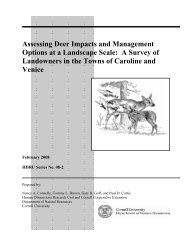 PDF file - Department of Natural Resources - Cornell University