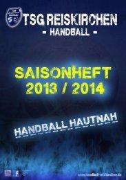 Saisonheft 2013/2014 - handball-reiskirchen.de