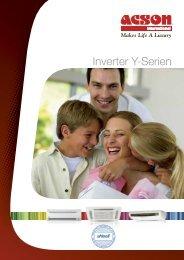 Produktblad Acson inverter - Kcc