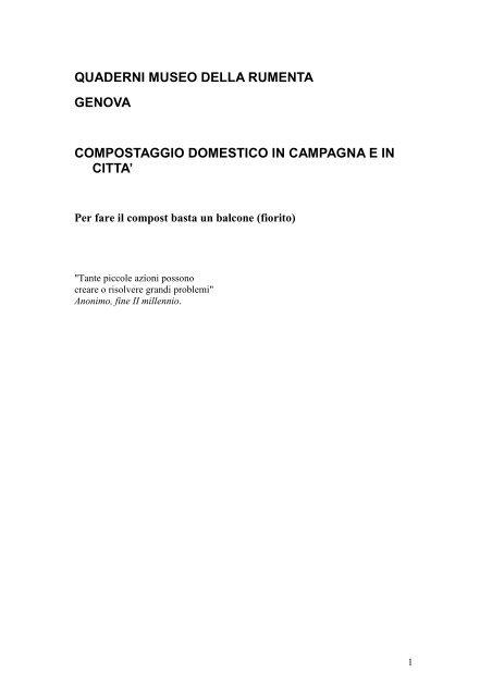 19 ottobre DEF Quaderno Museo Rumenta.pdf - Urban Center ...
