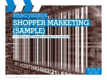 warc trends shopper marketing (sample)