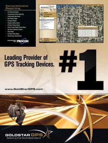 Download the Goldstar Brochure [PDF File] - GoldStar GPS