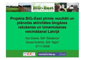 Ilze Dzene, Ekodoma Ltd., Latvia - BT 1