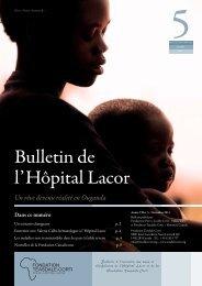 Novembre (Bulletin_du_Lacor_5_2011.pdf) - Fondazione Corti