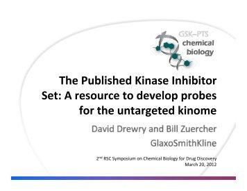 The Published Kinase Inhibitor Set - Maggi Churchouse Events