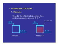 Enzymes and Enzyme Kinetics - CMBE