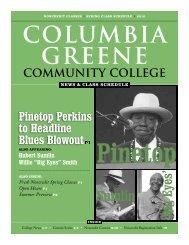 C-GCC Spring 2010 News & Class Schedule - Columbia-Greene ...