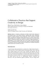Collaborative Practices that Support Creativity in Design