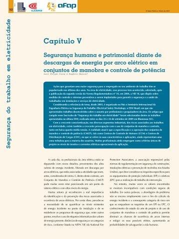 Segurança do trabalho em eletricidade - Revista O Setor Elétrico