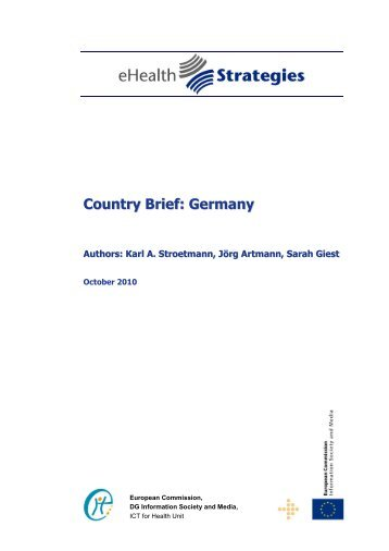 Country Brief: Germany - eHealth Strategies