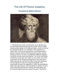 The Life of Flavius Josephus.pdf - Online Christian Library