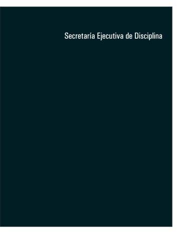 Secretaría Ejecutiva de Disciplina
