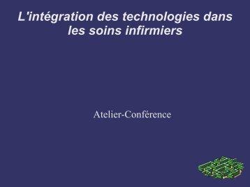 L'intégration des technologies dans les soins infirmiers - aeesicq