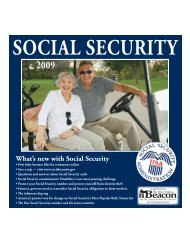 Social Security 2009 - The DeLand Beacon