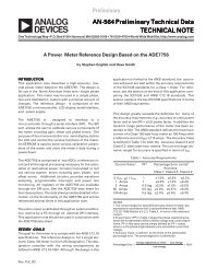 a AN-564 Preliminary Technical Data TECHNICAL NOTE - SMD ...