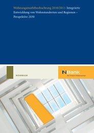 Wohnungsmarktbeobachtung 2010/2011 ... - bei der NBank