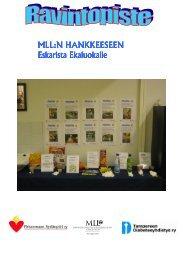 RAVINTOPISTE MLL 2008 - MLL:n Hämeen piiri ry