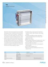 A0(A60) Fire Damper - Halton
