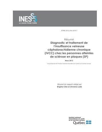IVCC - INESSS