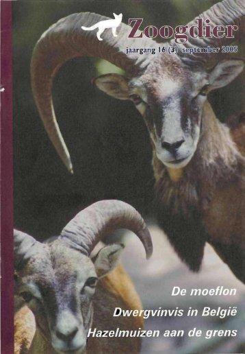 Oproep - Zoogdierwinkel