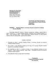 Prijedlog Odluke - Istarska županija