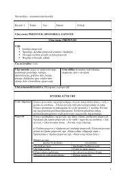 Učna enota: PREPOVED, OPOZORILO, ZAPOVED Učn - Praktik
