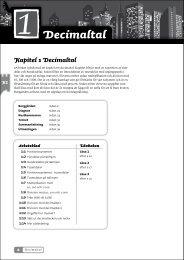 Decimaltal - Sanoma Utbildning