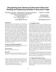 Recognizing User Interest and Document Value from Reading and ...