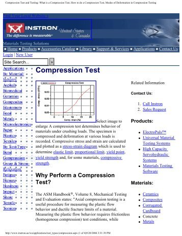 Compression Test and Testing: What is a Compression Test, How to ...