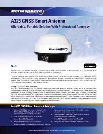 A325 GNSS Smart Antenna