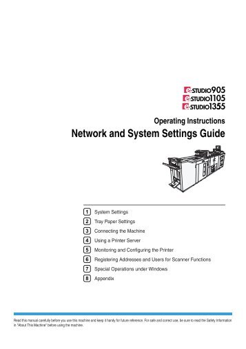 Network and System Settings Guide