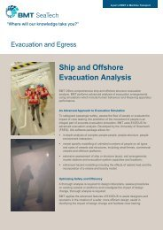 Ship and Offshore Evacuation Analysis