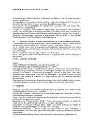 Portaria MS nº 327-1997