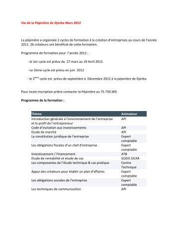 Cliquez-ici - Tunisie industrie