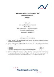 Niedersachsen Ports GmbH & Co. KG