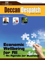 Deccan Despatch (January - April 2010) - CII