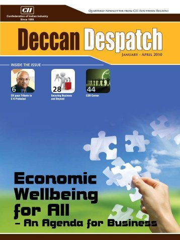 Deccan Despatch (January - April 2010) - CII