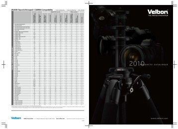 Download Velbon Katalog 2010 (Englisch) - HS Imaging GmbH