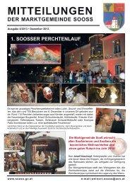 mitteilungen der marktgemeinde sooss - prosooss.at