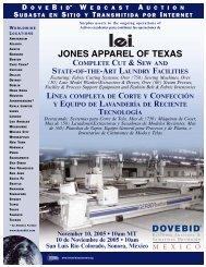 Jones Apparel brochure