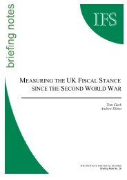 Measuring UK fiscal stance since the Second World War