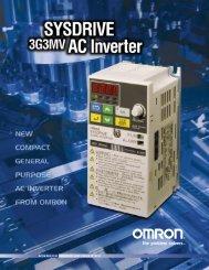 SYSDRIVE 3G3MV AC INVERTER