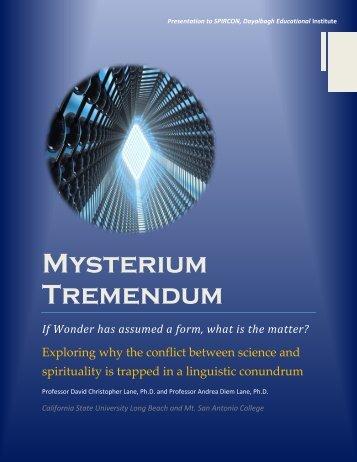 MysteriumTremendum